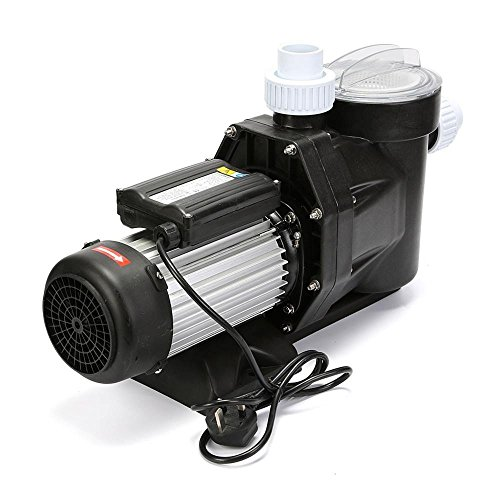 Popsport Swimming Pool Pump 1850W Self-Priming Swimming 110V Ground Pool Pump with 2.5HP Electric Motor Pool Pump for Residential and Commercial Use (2.5HP)