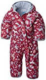 Columbia Baby Boys' Snuggly Bunny Bunting, Crown Jewel, 12-18 Months
