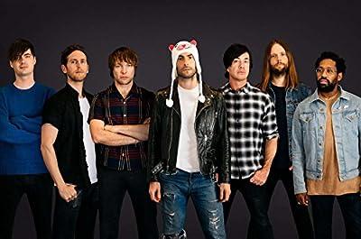 MOTIVATION4U Maroon 5, an American pop rock band from Los Angeles, California, Adam Levine, Jesse Carmichael, Mickey Madden, James Valentine 12 X 18 inch Poster