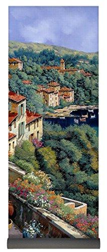 Pixels Yoga Mat w/ Bag ''Il Promontorio'' by Pixels