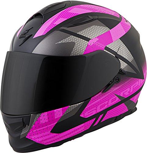 Scorpion Unisex-Adult Full-face-Helmet-Style Fury (Black/Pink XXX-Large