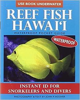 Reef Fish Hawaii Waterproof Pocket Guide John P Hoover