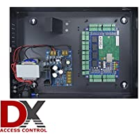 Commercial Grade Four Door Security Panel, DX Series Access Control Package with Power Supply Case, (Electronic Lock Security Board)
