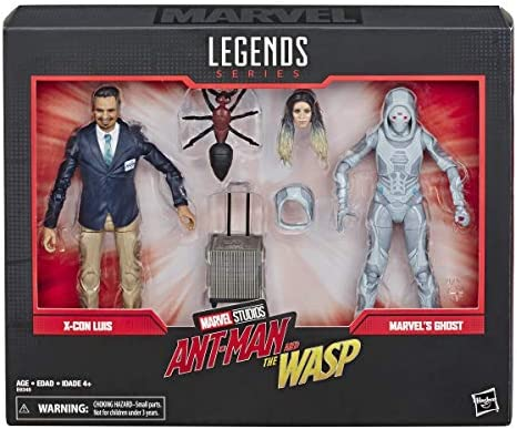 "Marvel Legends Marvel Studio Movie Antman /& the Wasp X-CON LUIS 6/"" Action Figure"