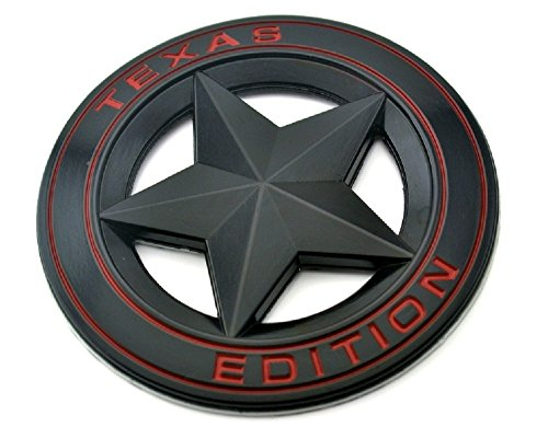 Muzzys Texas Edition Star BLACK and Red Round 3