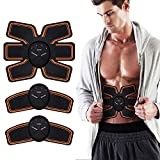 LOFFU Abs Trainer,EMS Abdominal Muscle Stimulator,Abdominal Toning Belts,ABS Machine Ab Belt Toning Gym Workout Machine For Men & Women