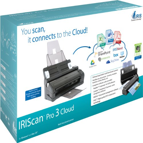 IRIScan Cloud Portable Color Scanner