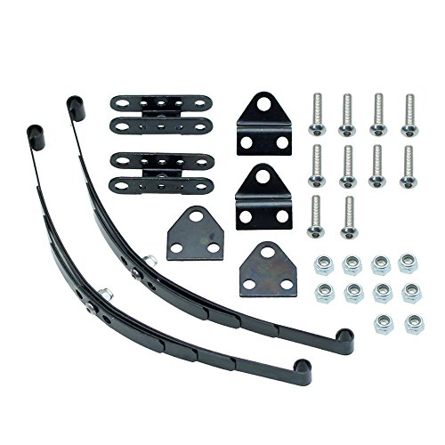 Rock Crawler Suspension (INJORA Hard Leaf Spring Suspension Steel Bar for 1:10 RC Rock Crawler RC4WD D90 Axial SCX10 F350)