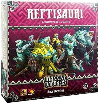 Asmodee Italia - Massive Darkness Reptisauri expansión Juego de Mesa, Color, 10102: Amazon.es: Juguetes y juegos