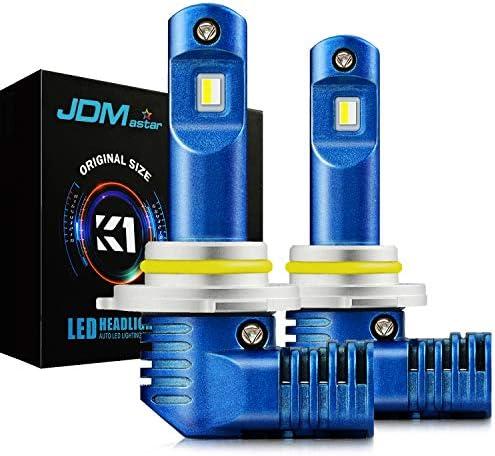 JDM ASTAR K1 10000ルーメン 非常に明るい 1:1 デザイン 9006 オールインワン LED ヘッドライト電球 フォグライト DRL キセノンホワイト
