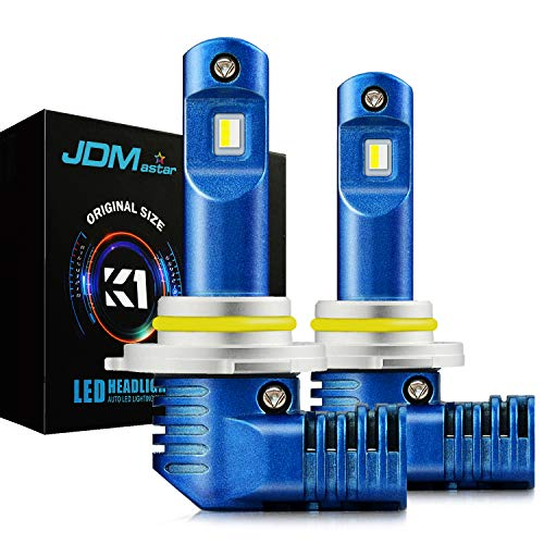 JDM ASTAR K1 10000 Lumens Extremely Bright 1:1 Design 9005 All-in-One LED Headlight Bulbs/Fog Lights/DRL, Xenon - Bulb 1 Regency