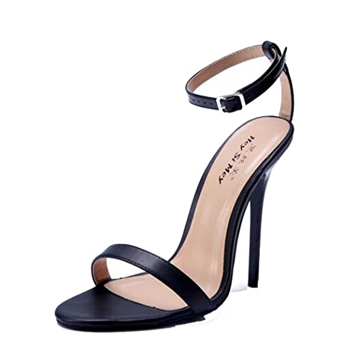 De Con Alto Sandalias Para Zapatos Eih2wd9 Tacón Tacones Mujer Abierto 54Sq3jARLc