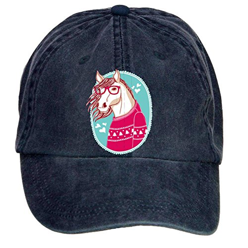 (bounnty Unisex Horse Design Baseball Cap Hats)