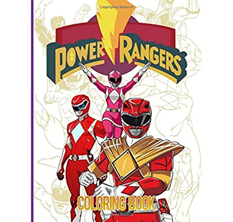 - Power Rangers Coloring Book: Power Rangers Adult Coloring Books! With  Newest Unofficial Images: Hayes, Arlo: 9798642904473: Amazon.com: Books