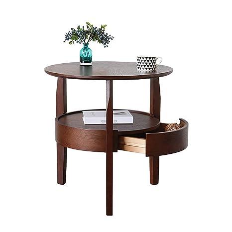 Amazon.com: Mesa auxiliar para sofá, armario lateral ...