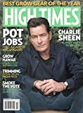 High Times Magazine (October, 2018) Charlie Sheen Pot Jobs