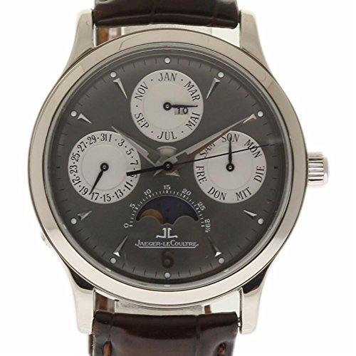 Jaeger LeCoultre Master Quantieme Swiss-Automatic Male Watch 140.3.80 (Certified Pre-Owned) -  NAEN-208-2TMASTER QUANTIEME-CZ-CPO