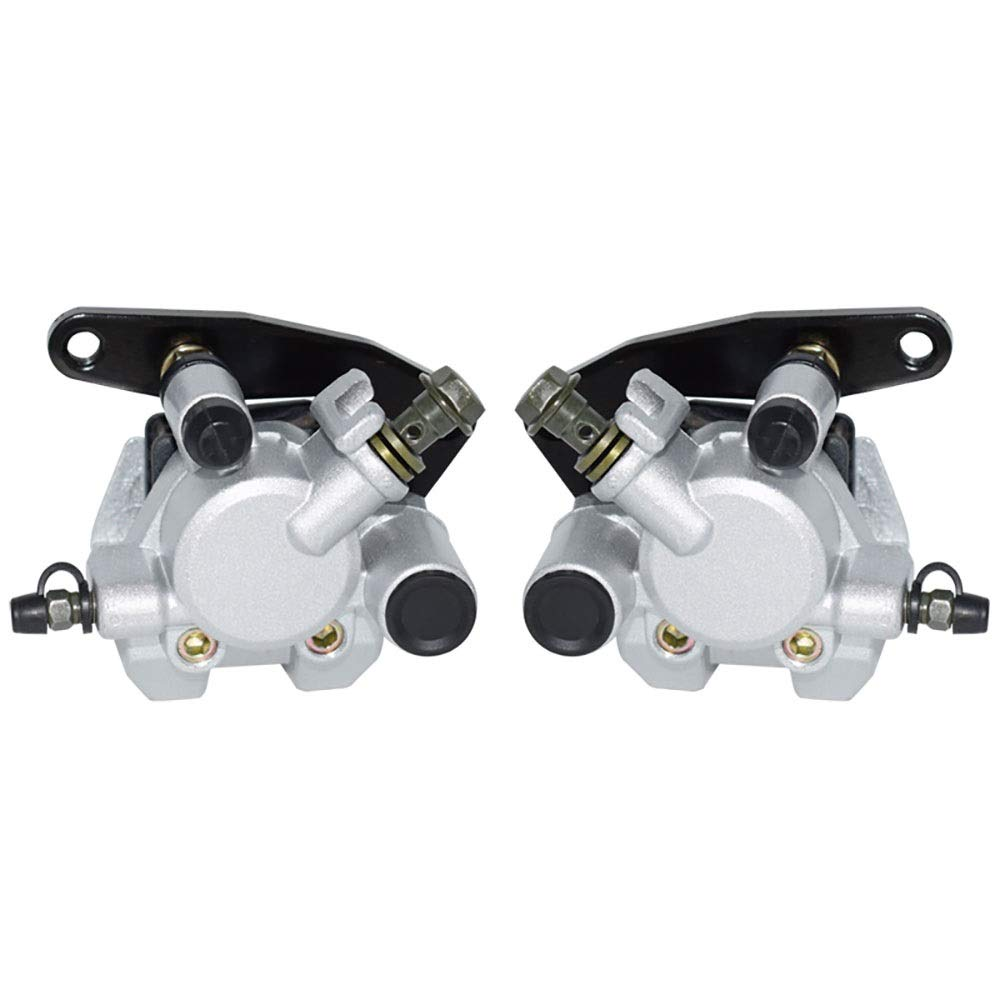 CONGJIEUS Parts, Parts Motorcycle Front Brake Caliper Set for Yamaha Grizzly 660 2002-2008 YFM660 Kodiak 400 1999-2006 Kodiak 450 2003-2006 with Pads (Color : Left and Right)