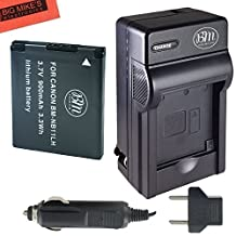 BM Premium NB-11L, NB-11LH Battery and Charger Kit for Canon PowerShot Elph 110, Elph 130, Elph 135 IS, Elph 140 IS, Elph 150 IS, Elph 160, Elph 170 IS, Elph 180, Elph 190 IS, Elph 320 HS, Elph 340 HS, Elph 350 HS, Elph 360 HS, A2300 IS, A2400 IS, A2600 IS, A3400 IS, A4000 IS, SX400 IS, SX410 IS, SX420 IS Digital Camera