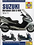 1998-2011 HAYNES SUZUKI BURGMAN 250 & 400 SERVICE REPAIR MANUAL (4909)