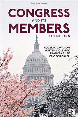 1506369731 - Congress and Its Members (Sixteenth Edition)