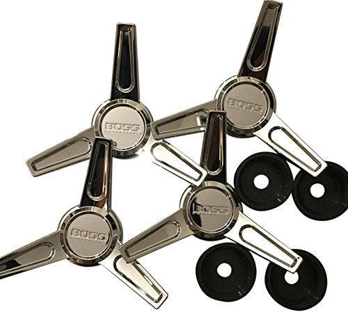 Boss Wheels 3216 Knockoff Chrome 4pcs Center Cap Set