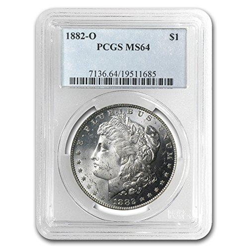 1882 O Morgan Dollar MS-64 PCGS Dollar MS-64 PCGS