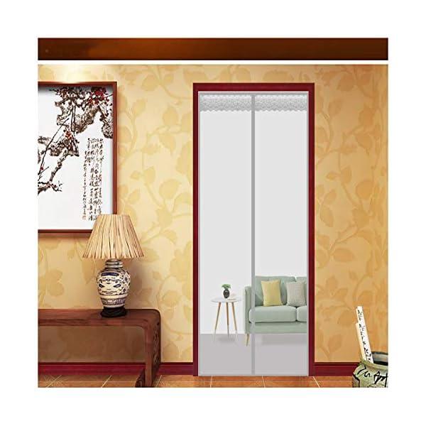Zanzariera Porta Finestra Magnetica 100x260cm(39x102inch) Zanzariera Magnetica Finestra Anti Insetti Mosche Zanzare… 1 spesavip