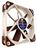Noctua NF-S12A FLX, 3-Pin Premium Cooling Fan (120mm, Brown)