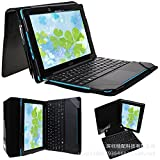 Crazy Horse Folio Stand Pouch Shell Keyboard Cover Leather Case For Acer Aspire Switch 10E SW3-013-12TJ/1812 Tablet
