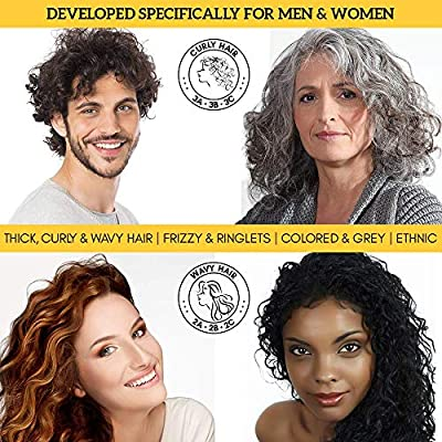 Curly Hair Products Curl Defining Curl Cream Dream for Styling and Conditioning your Curls in One Moroccan Argan Oil Supercream Bounce Curl Keeper for Natural or Perm Hair by Royal Locks