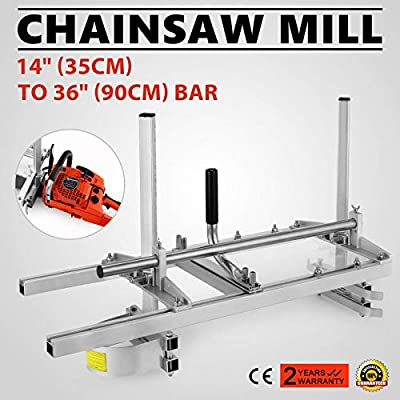 """Morocca Portable Chainsaw Mill 36"""" Inch Planking Milling Bar Size 14"""" to 36"""""""