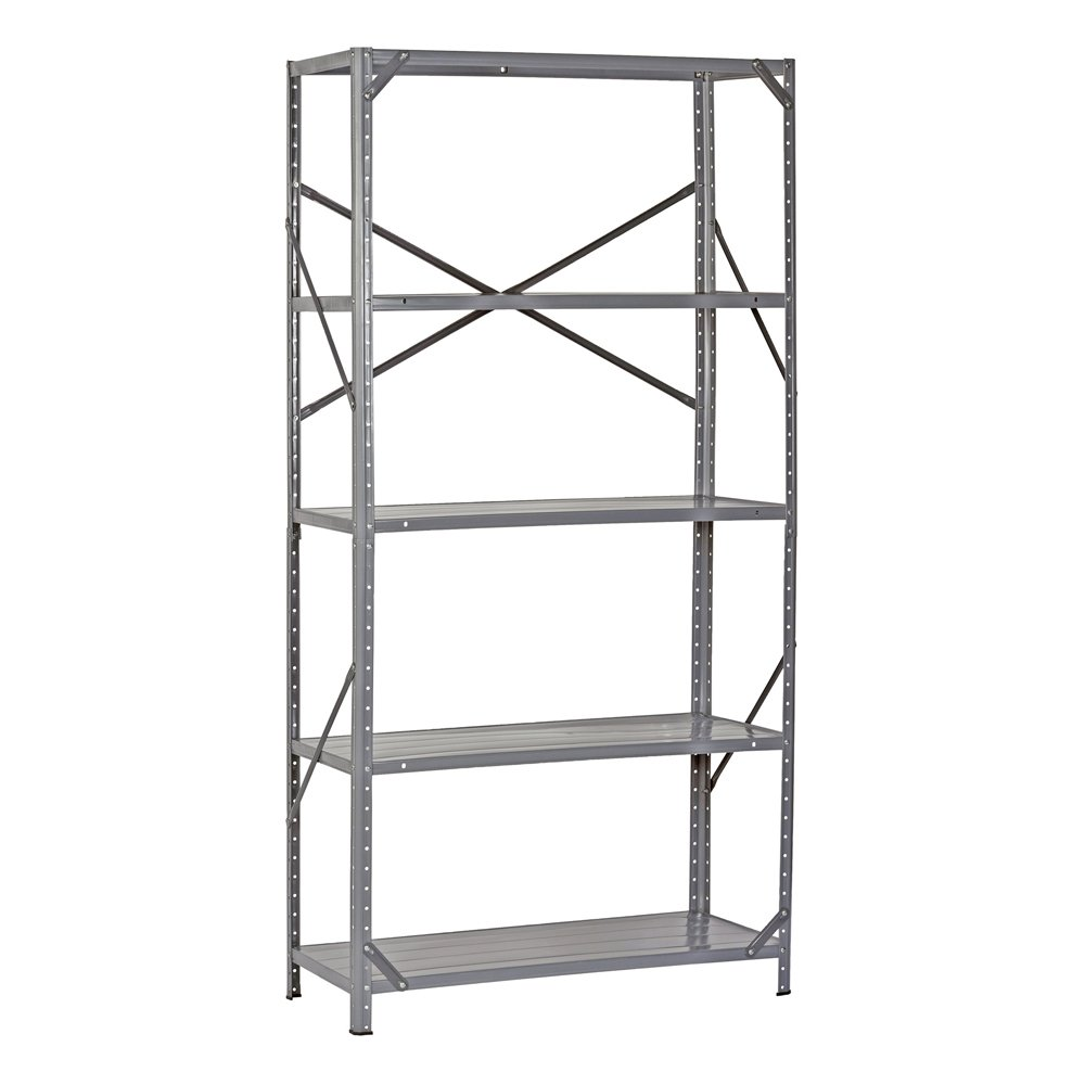 Amazon.com: Edsal 7216H Steel Commercial Shelving Unit, 36\