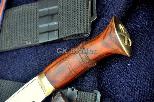 "Authentic Gurkha Kukri - 9"" Blade Nepal Police Kukri Handmade by GK&CO. Kukri House in Nepal"