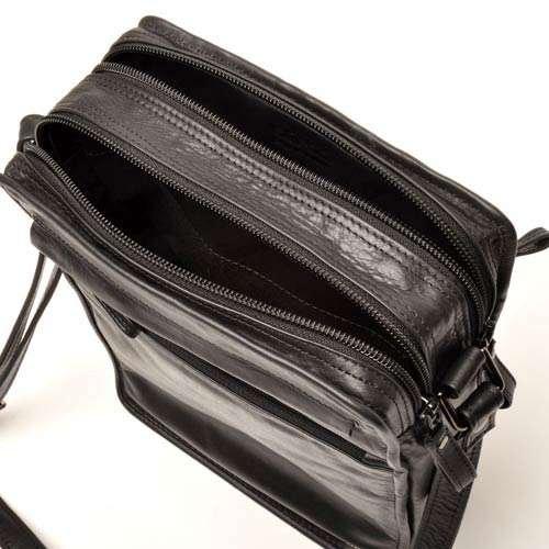 berba Soft 488 Besace à longue bandoulière en noir