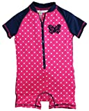 Wippette Baby Girls' Polka Dot with Butterfly 1 Piece Swim