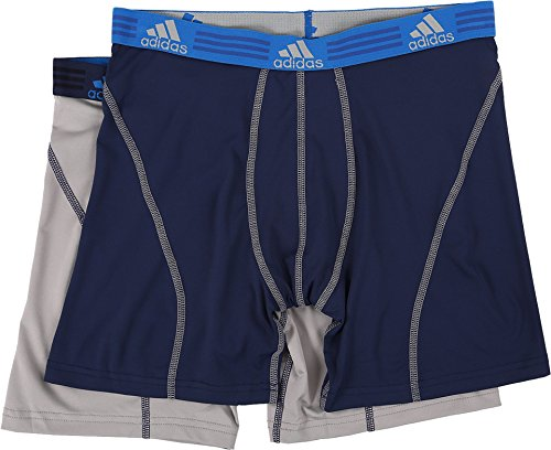 adidas Men's Sport Performance Climalite Boxer Brief...