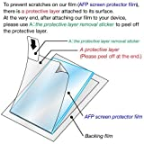 [3-Pack] ASDEC [AFP Screen Protector Film