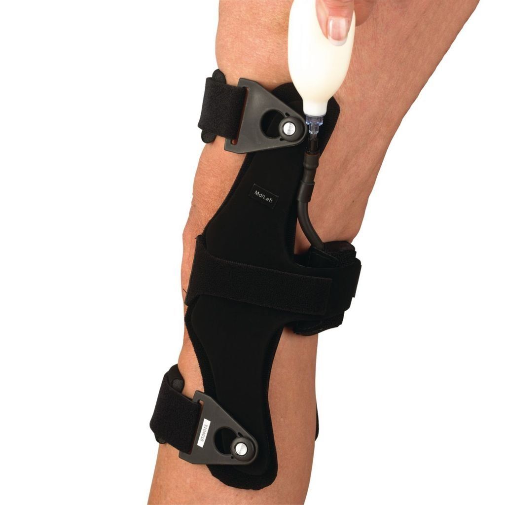 OrthoPro HyperEx Knee Brace - Right, Medium, Mid-Thigh Circ: 14'' - 20''