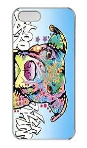 Bull Dog Custom For SamSung Note 4 Case Cover PC White