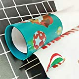 LtrottedJ Wrapping Paper Cutter Christmas Wrapping Paper Cutting Tools Gift Wrapping Paper (Multicolor)