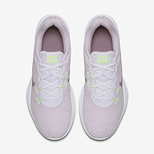 Damen white Blanc Fitness Chaussures De 7 Rose Femme Nike elemental Trainingsschuh Trainer 104 Flex dqWvw4