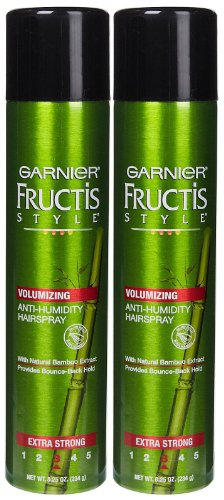 Garnier Fructis Volumizing Anti, Humidity Hairspray, Extra S