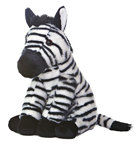 Aurora World Destination Nation Zebra Plush, 11""