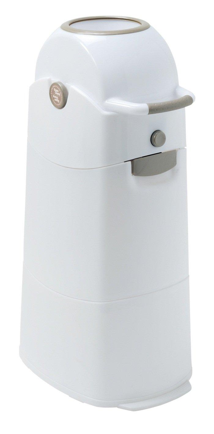Diaper Champ Odour-Proof Nappy Bin Medium Silver for Standard Rubbish Bags by Diaper Champ