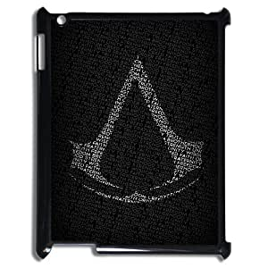 Classic Case Assassin's Creed pattern design For IPad 2,3,4 Phone Case