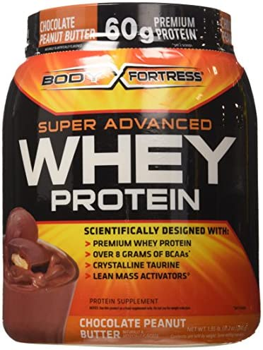 Body Fortress Whey Protein Powder, 31.2 Ounces