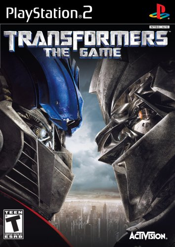 Transformers the Game - PlayStation 2 (Best Ps2 Adventure Games)