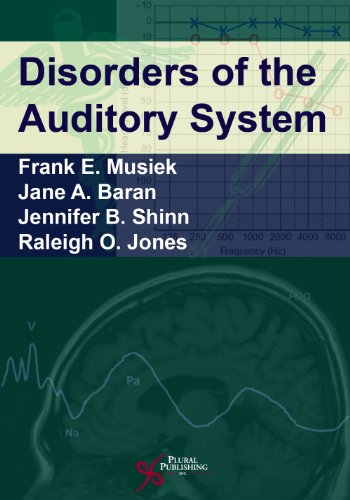1597563501 - Disorders of the Auditory System