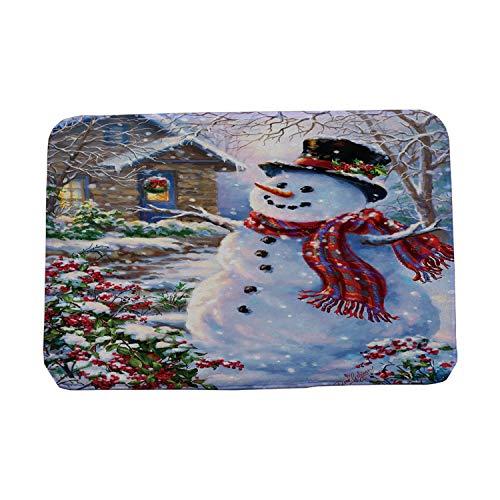 - Anti-Slip Entrance Doormats Floor Mats Kitchen Carpets Snowman Door Mat Outdoor Indoor Rugs,2,500mm x 800mm